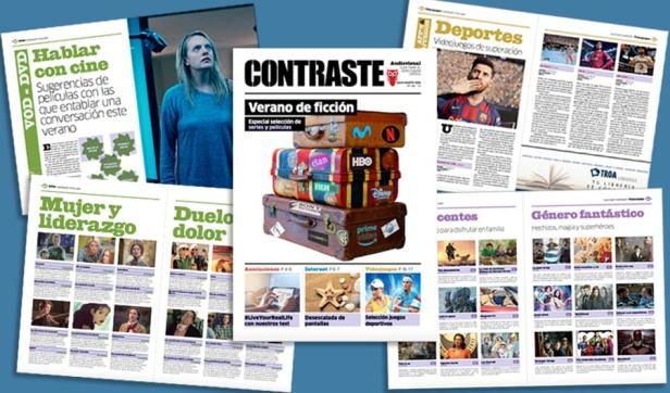 Revista Contraste juliol - Un estiu de ficció
