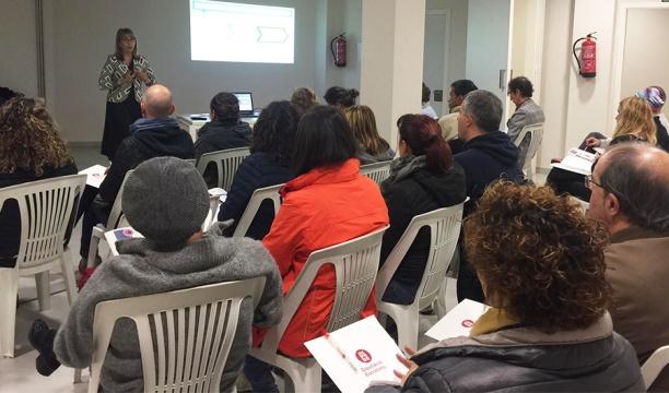 Assistents al taller organitzats per SPOTT a Berguedà
